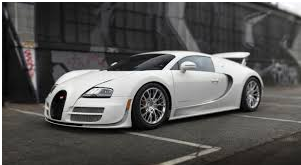 The Bugatti Veyron. Speed made solid.