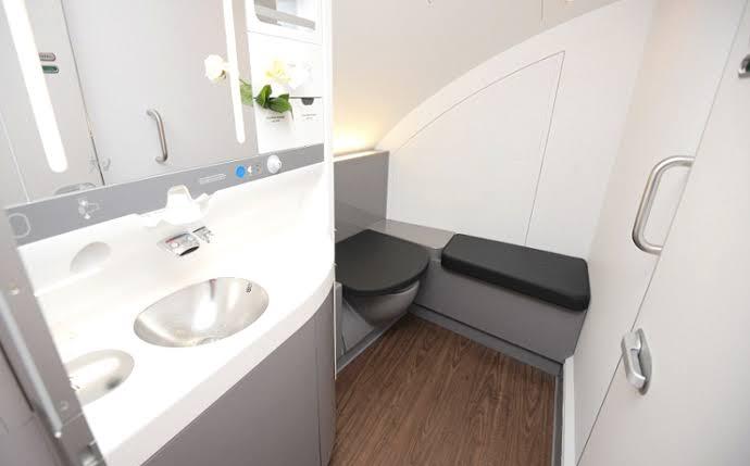 Aeroplane Toilet Etiquette